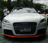 AUDI TT แต่งลาย MTM Wrap ชิ้นส่วนชุดแต่งสีส้ม