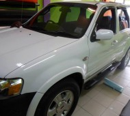FORD ESCAPE FULL WRAP WHITE GLOSS