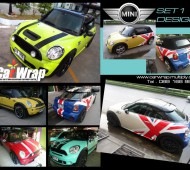 MINI COOPER SET DESIGN