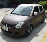 SUZUKI SWIFT Wrap CHOCOLATE MATTE
