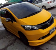 Honda freed full wrap spoon yellow matte Oracal 020M