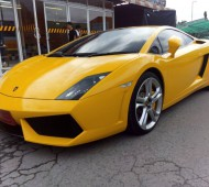 Lamborghini Gallardo Wrap Film กันรอย 3M Polymeric