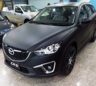 Mazda CX5 Full wrap black matte เปิดตัว มาเต็ม!!!