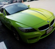 BMW Z4 Full Wrap light Green