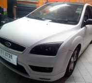 Ford focus full wrap white matte with oracal651