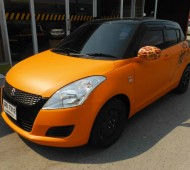 New Swift Orange Matte Full Wrap