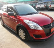 NEW SWIFT Red Mattalic HALF WRAP Black Matte