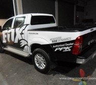 Vigo Vehicle Wrap FOX Brand