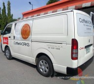 Vehicle Wrap Marketing COFFEE WORK