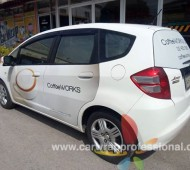 งาน Vehicle Marketting Wrap HONDA JAZZ COFFEE WORK