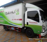 งาน Vehicle Marketting Wrap TRUCK CAR POWERMATIC
