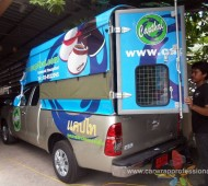 งาน Vehicle Marketting Wrap Capthai Pikup