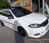 Chevrolet Optra Full Wrap White Gloss