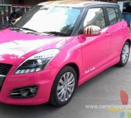 Suzuki Swift งาน Full Wrap Three in one