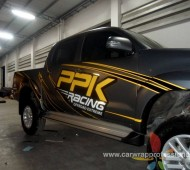 Vigo Gray Matt Metalic PPK RACING Design