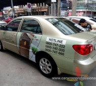 Vehicle Marketing Wrap ECO DOOR
