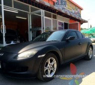 RX8 Full Wrap Black Matte
