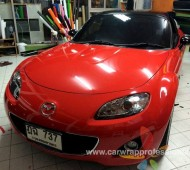Mazda MX5 NC แดงเดิมไม่เร้าใจพอ...ขอจัดแดงสดๆ