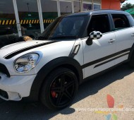 Mini countryman แต่งลาย STRIPES V