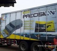 vehicle wrap รถขนส่งเพื่อการตลาด