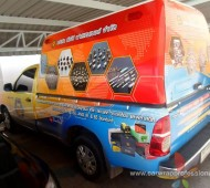 TPC Vehicle Wrap PIKUP CAR