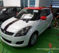 NEW SWIFT Half Wrap แต่งลาย Stripes Viper Racing 3 คัน