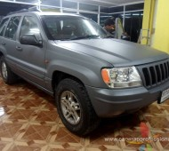 jeep cherokee DARK GRAY Full Wrap