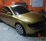 VW PASSAT Full Wrap ทองอร่าม
