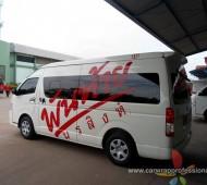 Vehicle Marketing Wrap รถตู้ผู้บริหาร พันท้ายนรสิงห์