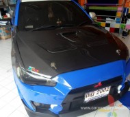 Mitsubishi New Lancer EVO10 Full Wrap Refex Blue