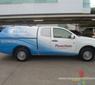 Vehicle Marketing Wrap POWER METIC