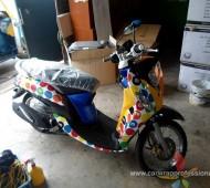 Fino Vehicle Full Wrap งานกราฟฟิค M&M