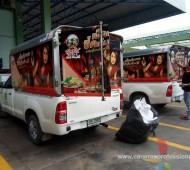 Vehicle Marketing Wrap พันท้ายนรสิงห์