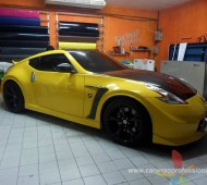 NISSAN FAIRLADY(370Z) Yellow Jaune Gloss