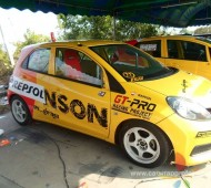 Wrap Sticker Graphic Repsol สาย Drag Racing