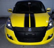 SUZUKI SWIFT FULL WRAP YELLOW