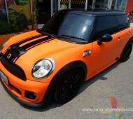 Mini John Cooper Work R56 Full Wrap ORANGE GLOSS