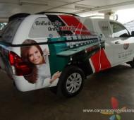 รถกระบะโฆษณา