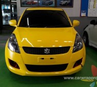 SUZUKI SWIFT YELLOW GLOSS