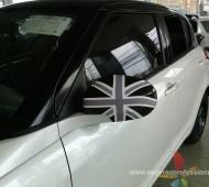 Suzuki Swift half wrap black glossy