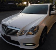 BENZ E250 FULL WRAP GLOSSY WHITE By 3M 1080