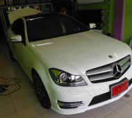 Benz C cupe 180 FULL WRAP Protection Film 3M