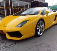 Lamborghini Gallardo Wrap Film กันรอย 3M Polymeric