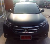 Honda CRV full wrap black matte