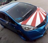 จัดไป Jazz Japan Flag racing