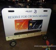 งาน Vehicle Marketting Wrap รถแผงกั้นลานจอดรถ King Power 28 คัน