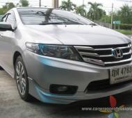 Honda City Full Wrap Silver Grey With Oracal