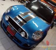 Mini Cooper JCW Viper stripes Design and Black jack Nice!!!